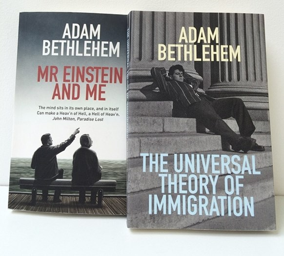 Mr Einstein and Me and The Universal Theory of Immigration book covers