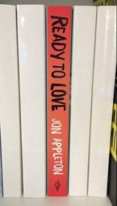 Ready to Love book spine